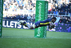 RUGBY - CHAMPIONS CUP - 2017<br /> yato (peceli)<br /> Clermont / Exeter le 21/01/2017<br /> Photo : Pierre Lahalle