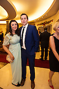 Hollie Cullen and Darragh Lydon  from Oranmore at the Gorta Self Help Africa Annual Ball at the Galway Bay Hotel, Salthill Galway.<br /> Photo:Andrew Downes, xposure.