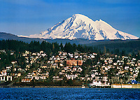 Mt. Baker, Bellingham Bay, Fairhaven, Washington State