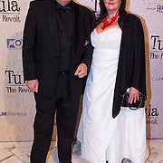 NLD/Amsterdam/20130625 - Premiere van de film Tula The Revolt, Paul Ruven en partner