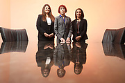 SHOT 12/4/19 11:36:30 AM - McGuane & Hogan, P.C., a Colorado family law firm located in Denver, Co. Includes attorneys Kathleen Ann Hogan, Halleh T. Omidi and Katie P. Ahles. (Photo by Marc Piscotty / © 2019)