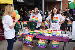 National Trust at Pride 2017, Norwich UK, 29 July 2017