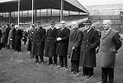 Former players remember the 14 who were shot dead in Croke Park on Bloody Sunday 1965 as they attended a Dublin v Tipp match. Among the dead were Tipperary fullback Michael Hogan, after whom the Hogan Stand is named..21.11.1965