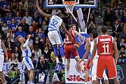DESCRIZIONE : Eurolega Euroleague 2015/16 Group D Dinamo Banco di Sardegna Sassari - Brose Basket Bamberg<br /> GIOCATORE : Nicolo Melli<br /> CATEGORIA : Passaggio Penetrazione Controcampo<br /> SQUADRA : Brose Basket Bamberg<br /> EVENTO : Eurolega Euroleague 2015/2016<br /> GARA : Dinamo Banco di Sardegna Sassari - Brose Basket Bamberg<br /> DATA : 13/11/2015<br /> SPORT : Pallacanestro <br /> AUTORE : Agenzia Ciamillo-Castoria/L.Canu