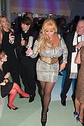 Julie Patsalides, Grey Goose Winter Ball to benefit the Elton John Aids Foundation. Battersea Power Station. London. 10 November 2012.