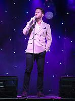 Joel Harper-Jackson  taking part in  Songs Under The Stars - a Picnic Concert ot  Betley Court Farm Betley Court Farm near Crewe. 22.08.20