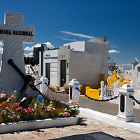 Mausoleums and a lot of gravestones from many countries are represented on the municipal cemetery of Punta Arenas.