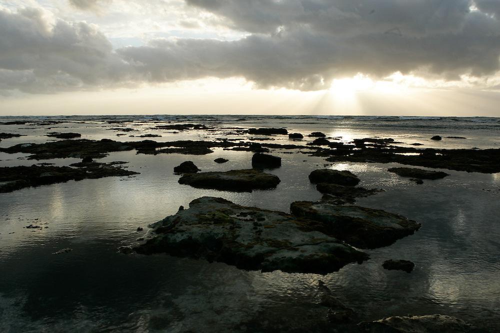 Sunrise over the Gulf of Mexico in Tulum, Riviera Maya, Mexico. © 2007 Scott Morgan