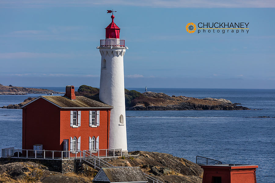 Fisgard Lighthouse in Victoria, British Columbia, Canada