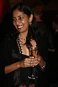 KIRAN DESAI, Drinks Reception before the Man Booker Prize 2006. Guildhall, Gresham Street, London, EC2, 10 October 2006. -DO NOT ARCHIVE-© Copyright Photograph by Dafydd Jones 66 Stockwell Park Rd. London SW9 0DA Tel 020 7733 0108 www.dafjones.com