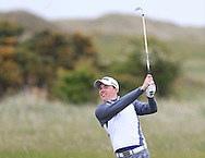 Stuart Grehan (Tullamore) on the 9th fairway during Round 1 of the East of Ireland Amateur Open Championship at Co. Louth Golf Club, Baltray on Saturday 30th May 2015.<br /> Picture:  Thos Caffrey / www.golffile.ie