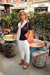 MEG MATTHEWS at a party to celebrate the launch of Laura Mercier's perfume Ambre Pssion Elixir held at Momo's, 25-27 Heddon Street, London on 27th May 2010.