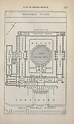 Plan of British Museum From the book ' London and its environs : a practical guide to the metropolis and its vicinity, illustrated by maps, plans and views ' by Adam and Charles Black Published in Edinburgh by A. & C. Black 1862