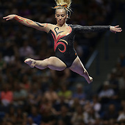 Mykayla Skinner, Gilbert, Arizona, in action during the Senior Women Competition at The 2013 P&G Gymnastics Championships, USA Gymnastics' National Championships at the XL, Centre, Hartford, Connecticut, USA. 17th August 2013. Photo Tim Clayton