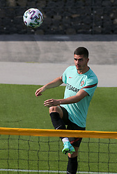 André Silva during a Portugal national football team training session for the preparation of Euro 2020 on May 27, 2021 in Oeiras, Portugal. Photo by Gerardo Santos/Global Imagens/Atlantico Press/ABACAPRESS.COM