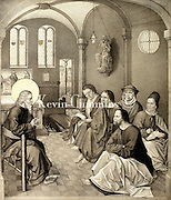 Strixner 19th Centuty Religious Etchings Strixner 19th Century Religious Etchings