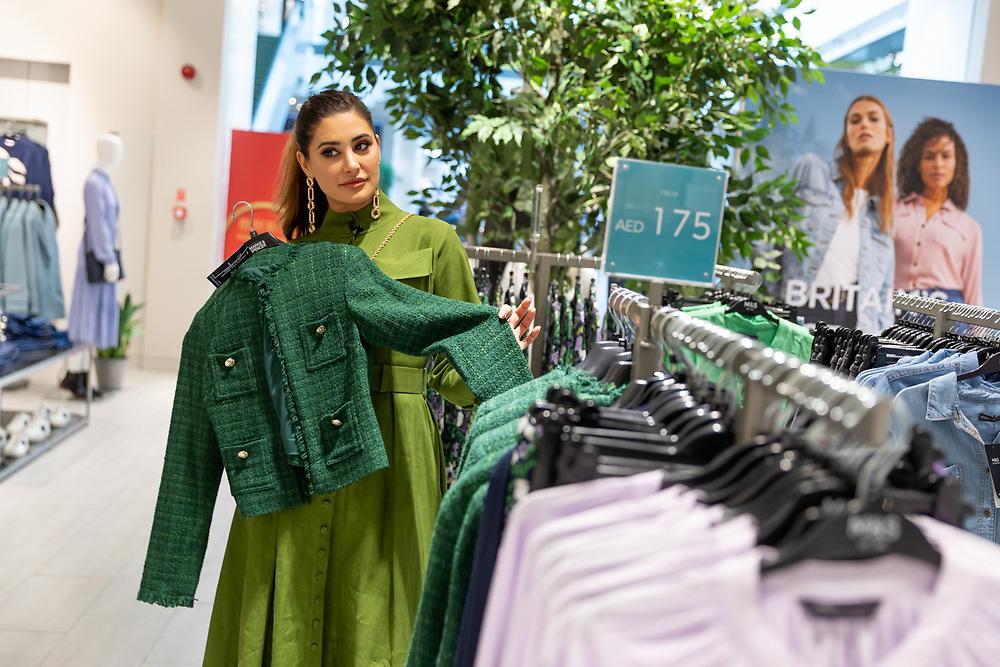 NArgis Fakhri, American actress at Dubai Festival City, as part of Dubai Shopping Festival 2020 activities.