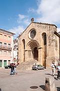 12th century Romanesque church of St. Tiago, Coimbra, Portugal