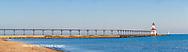 64795-03109 Michigan City Lighthouse & Pier Michigan City, MI