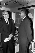 8/9/1964<br /> 9/8/1964<br /> 8 September 1964<br /> <br /> (L-R) Mr. J.R. Sharpe the Canadian Charge d'Affairs and Mr. M.L. Voisey Director of Canadian Goverment Immigration Service in London