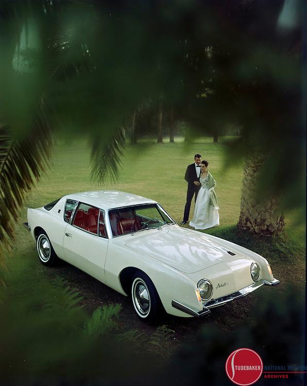 Promotional shot of the 1963 Studebaker Avanti.