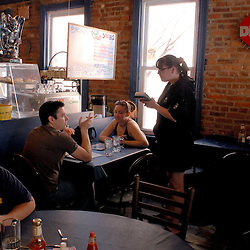 Inside the Blue Moon Cafe in historic Fell's Point, near Baltimore's Inner Harbor...Photo by Susana Raab