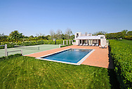 Swimming Pool, Modern Home, 733 Daniels Lane, designed by Charles Gwathmey, Sagaponack, New York