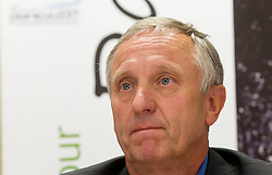 Janez Bukovnik at press conference of Planica Organizing committee, candidate city for Nordic World Championship 2017, on May 22, 2012 in SZS, Ljubljana, Slovenia. (Photo by Vid Ponikvar / Sportida.com)