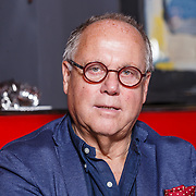 NLD/Amsterdam\/20131024 - Eigenaar Le Garage en chefkok Joop Braakhekke