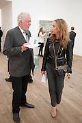 HUGH HUDSON; MARYAM D'ABO, Damien Hirst, Tate Modern: dinner. 2 April 2012.