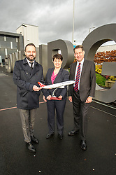 Pictured: Ahmet Serhat Sari, Turkish Airlines General manager for Scotland, Ruth Davidson and shadow finance secretary Murdo Fraser <br />