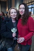 NO FEE PICTURES<br /> 12/4/18 Sharon McGlone,  Monaghan and  Trish Laverty, Cork at the launch of Jenny Huston and Leah Hewson's jewellery and fine art collaboration, Edge Only x Leah Hewson at The Dean Dublin. Arthur Carron