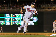 Minnesota Twins Josh Willingham #16 runs toward 3rd base during a game against the Baltimore Orioles at Target Field in Minneapolis, Minnesota on July 16, 2012.  The Twins defeated the Orioles 19 to 7 setting a Target Field record for runs scored by the Twins.  © 2012 Ben Krause
