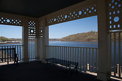 Selections from a day trip to Stillwater,--The Birthplace of Minnesota.  This shows the views from the historic gazebo looking upstream on the St. Croix River.  The Gazebo is being restored in 2012.