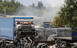 Fire fighters tackle the fire<br /> <br /> (c) David Wardle | Edinburgh Elite media