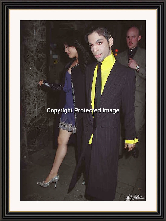 Prince 26/7/1997 Great Queen St London. A2 Museum-quality Archival signed Framed Print
