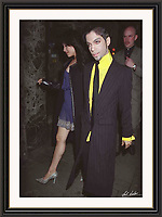 Prince 26/7/1997 Great Queen St London. A2 Museum-quality Archival signed Framed Print £650