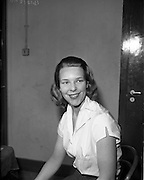 20/05/1959<br /> 05/20/1959<br /> 20 May 1959<br /> Miss Seonaid Walker, Theatre Club, at the Gate Theatre, Dublin.