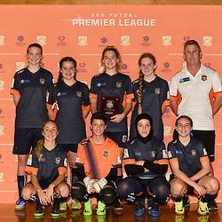 BRISBANE, AUSTRALIA - DECEMBER 10:  during the SEQ Futsal Premier League Semi Finals on December 16, 2017 in Brisbane, Australia. (Photo by Patrick Kearney)
