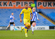 Leeds United Midfielder Liam Bridcutt during the Sky Bet Championship match between Sheffield Wednesday and Leeds United at Hillsborough, Sheffield, England on 16 January 2016. Photo by Adam Rivers.