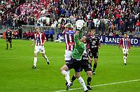 Fotball, 070803, Alfheim/Tromsø/ TIL - Brann/1-0/ Keeper Ivar Rønningen og Morten Gamst Pedersen (TIL)<br /> FOTO: KAJA BAARDSEN/DIGITALSPORT