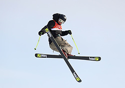 Mexico's Robert Franco in action during the qualification runs of the Men's Ski Slopestyle at the Bogwang Snow Park during day nine of the PyeongChang 2018 Winter Olympic Games in South Korea. PRESS ASSOCIATION Photo. Picture date: Sunday February 18, 2018. See PA story OLYMPICS Slopestyle. Photo credit should read: Mike Egerton/PA Wire. RESTRICTIONS: Editorial use only. No commercial use.