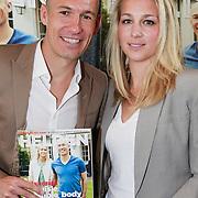 NLD/Ridderkerk/20130506 - Presentatie Helden 18, Arjen Robben en partner Bernadien Eillert