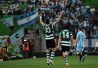 20120308: LISBON, PORTUGAL- UEFA Europa League 2011/2012 - 1st Leg: Sporting CP vs Man. City.<br /> In photo: Xandao<br /> PHOTO: Alvaro Isidoro/CITYFILES