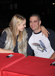 'Glee' star Mark Salling is reported dead at 35 of apparent suicide. He was awaiting sentencing on child pornography charges. ***FILE PHOTO*** Dianna Agron and Mark Salling at the Glee Season One cd release at Borders Columbus Circle in New York City. November 3, 2009.. CAP/MPI/DVT ©DVT/MPI/Capital Pictures. 03 Nov 2009 Pictured: Dianna Agron and Mark Salling. Photo credit: DVT/MPI/Capital Pictures / MEGA TheMegaAgency.com +1 888 505 6342