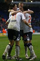 Photo: Steve Bond/Sportsbeat Images.<br /> Leicester City v West Bromwich Albion. Coca Cola Championship. 08/12/2007. Zoltan Gera (11) celebrates