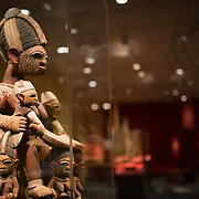 A Nigerian Epa helmet mask depicting fertility, The Smithsonian's National Museum of African Art is dedicated to historic and contemporary art in Africa. It's one of 19 Smithsonian Institution museums and is located in the grounds of the Smithsonian Castle off the National Mall in Washington DC.