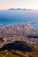 View of Trapani from  Érice, Erice, Sicily stock photos. .<br /> <br /> Visit our SICILY PHOTO COLLECTIONS for more   photos  to download or buy as prints https://funkystock.photoshelter.com/gallery-collection/2b-Pictures-Images-of-Sicily-Photos-of-Sicilian-Historic-Landmark-Sites/C0000qAkj8TXCzro<br /> <br /> <br /> Visit our MEDIEVAL PHOTO COLLECTIONS for more   photos  to download or buy as prints https://funkystock.photoshelter.com/gallery-collection/Medieval-Middle-Ages-Historic-Places-Arcaeological-Sites-Pictures-Images-of/C0000B5ZA54_WD0s