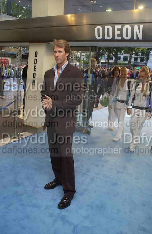 """Michael Bay. The UK Premiere of """"The Island"""" at the Odeon Leicester Square, London. 7 August 2005. , ONE TIME USE ONLY - DO NOT ARCHIVE  © Copyright Photograph by Dafydd Jones 66 Stockwell Park Rd. London SW9 0DA Tel 020 7733 0108 www.dafjones.com"""