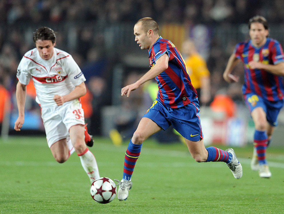 Uefa Champions League Barcelona Vs Stuttgart 4 0 Seen Sport Images